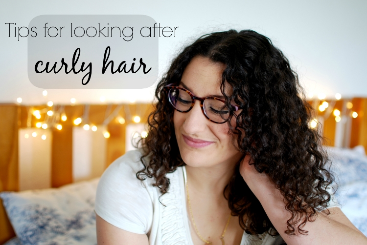 chambray and curls Looking after Curly hair, how to look after curls, tips for curly hair