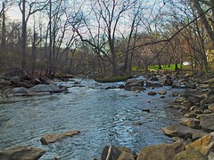 Rock Creek in April