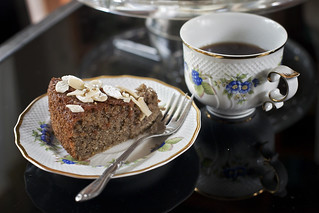 4-13-2014 Lemon, almond flour, buckwheat olive oil cake - gluten- and dairy free