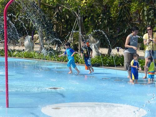 Children's Garden Water Play and Adventure Playground