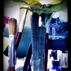 Nail salon implements