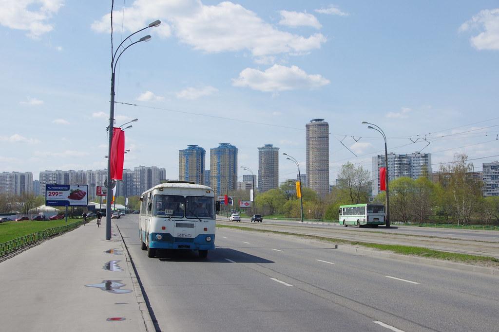 LiAZ-677 Moscow fantrip _20140427_060