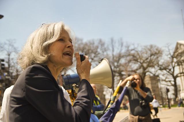Jill Stein Addressing the March