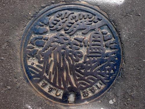 Suzu Ishikawa, manhole cover 2 (石川県珠洲市のマンホール2)
