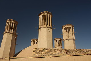 Wind towers of Yazd