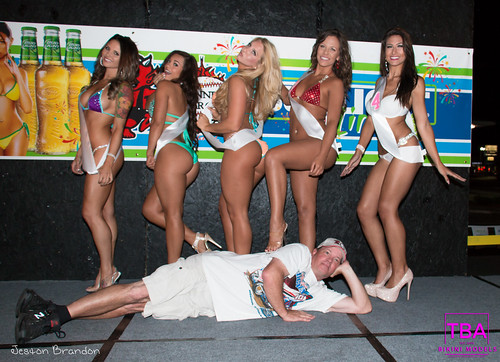 TBA Bikini Models at Winners Circle