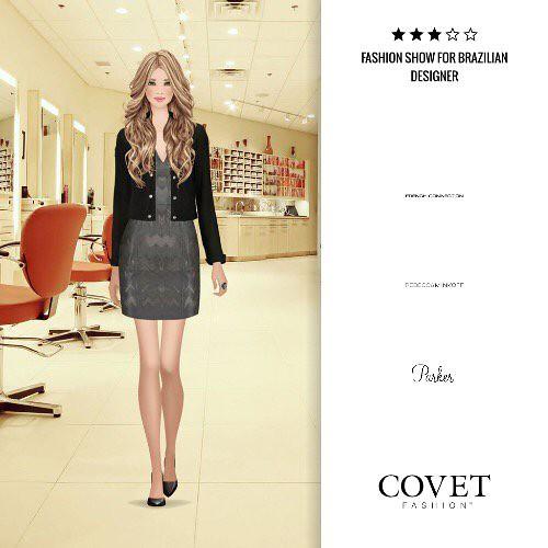 Fashion Show For Brazilian Designer Covetfashion Https T Co Sstpoaw6as Paper Doll Book