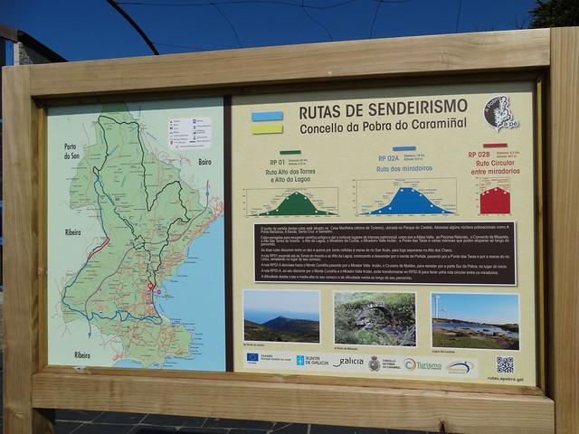 Panel Informativo Ruta Alto das Torres e Alto da Lagoa