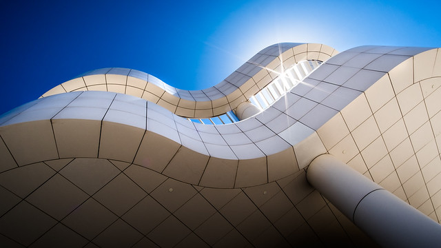The Getty museum - Los Angeles, United States - Architecture photography