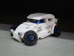 "Custom VW Beetle ""Camber Alert"""