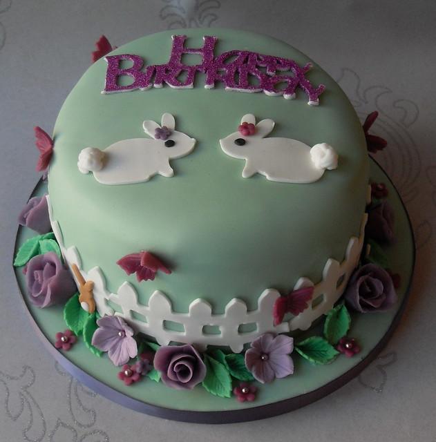 Rabbits Birthday Cake Flickr - Photo Sharing!