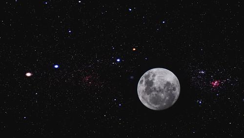 A Lua hoje... by kassá
