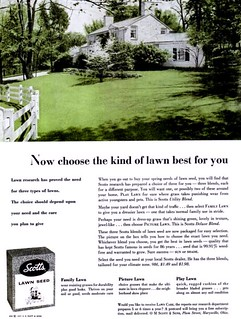 Scotts ad from 1957