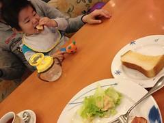 デニーズで朝御飯(2012/4/15)