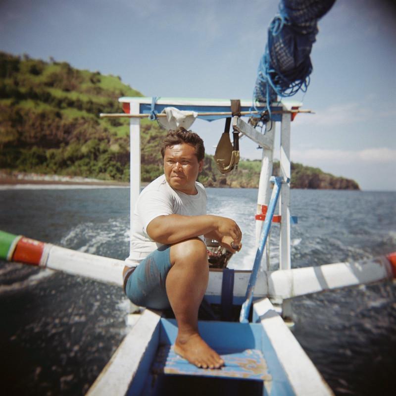 Wayan, the fisherman.