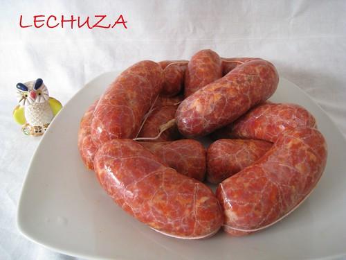 Chorizos caseros (1)
