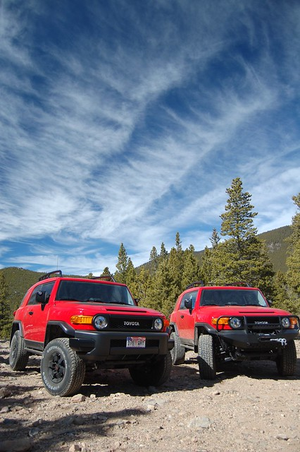 Twin 2012 Trail Teams FJ Cruiser 4x4 Trucks