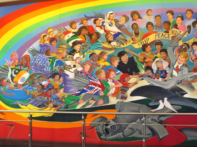 Denver airport murals 4 flickr photo sharing for Denver mural airport
