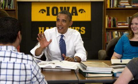 Obama @ Iowa #5