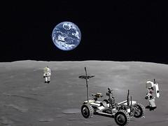 Lunar Rover and Astronauts - Lego Nr. 565