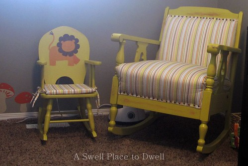 Mom & Baby Rocking Chair