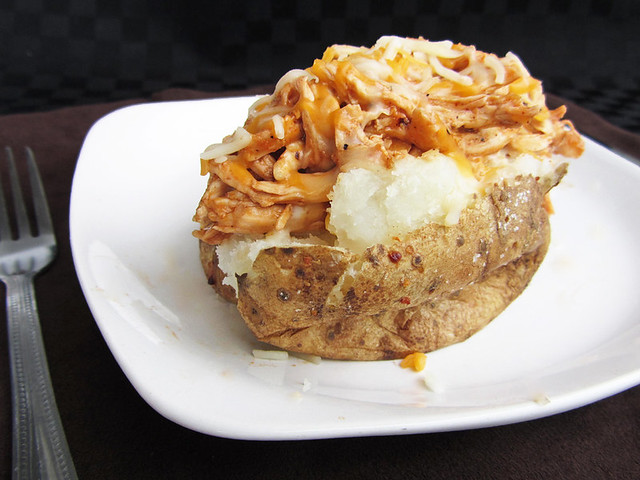 Barbeque Chicken Baked Potato