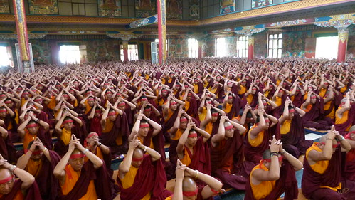 GYUTHRUL SHITHRO Wang in Monastery