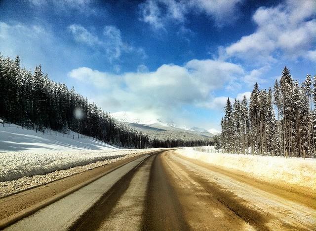 Highway #1 Alberta