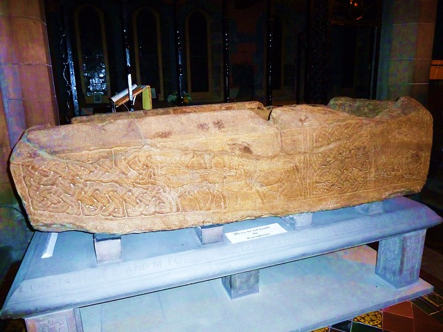 Constantine Sarcophagus, Govan Old Church