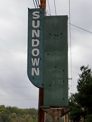 OH, Alma-U.S. 23 Sundown Motel Ghost Neon Sign