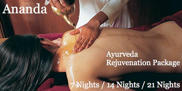 Ananda Spa Resort Ayurveda Rejuvenation Package
