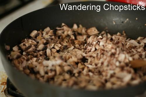 Mushroom Cream Cheese Phyllo Bundles 3