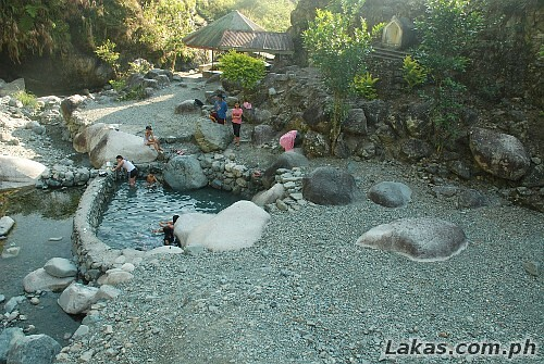 Bogyah Hot Spring in Hungduan, Ifugao