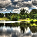 Painshill Lake in HDR by mjsearle121