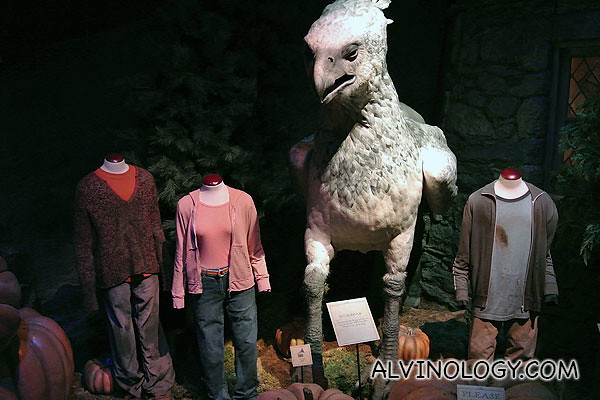 Harry, Ron and Hermoine's costume when they were really young