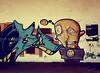 Bloody Street Graffiti by Denisa Kadlecova