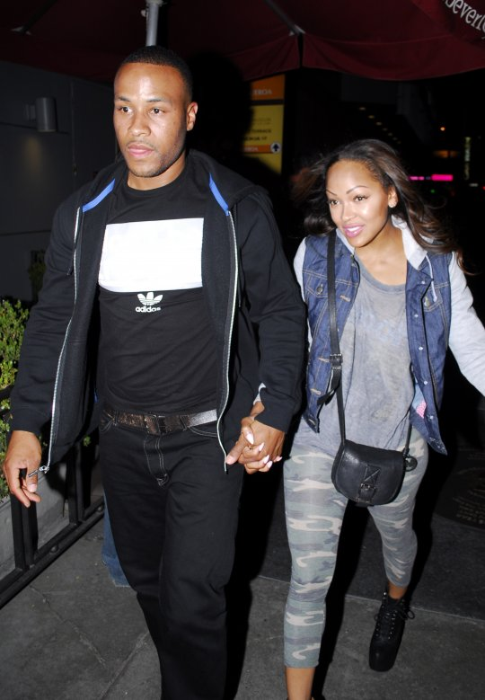 Meagan-Good-and-her-husband-Devon-Franklin-catch-a-concert