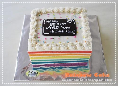 Rainbow Cake-Reni