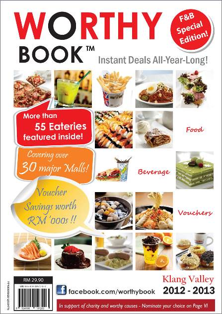 Worthy Book F&B Special Edition 2012-2013 (Klang Valley)