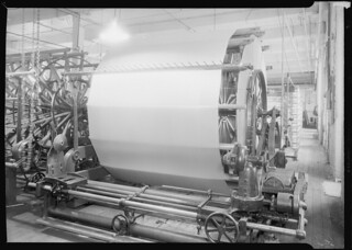 Jackson Winding and Warping Company. Picture of a Sipp-Eastwood DY type of High Speed Warper, June 1937