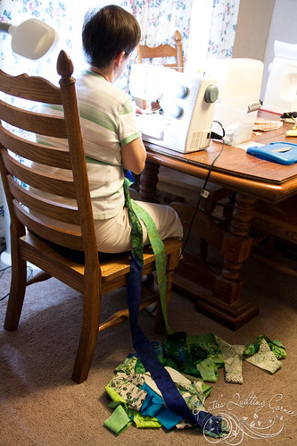 Sewing Jelly Roll Race Quilts