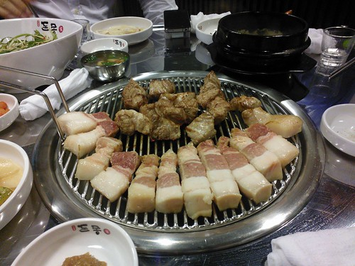 Korean barbecued pork
