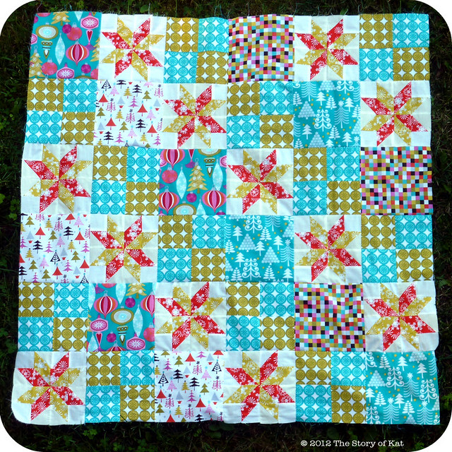 Whoville Quilt Top