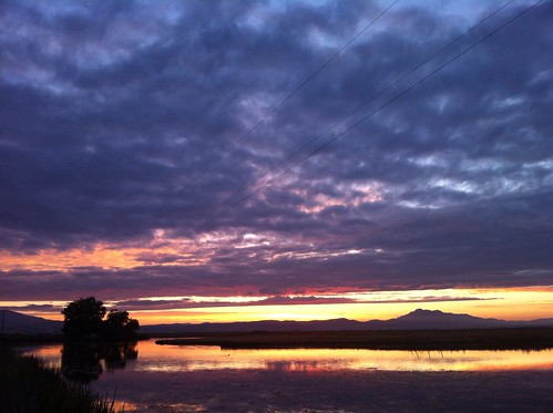 sunset clouds utah anniversary logan