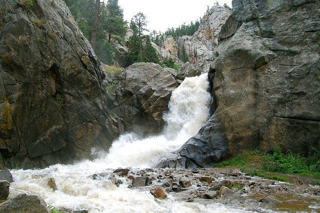 The Falls - Hiking at Boulder Falls, Boulder, CO
