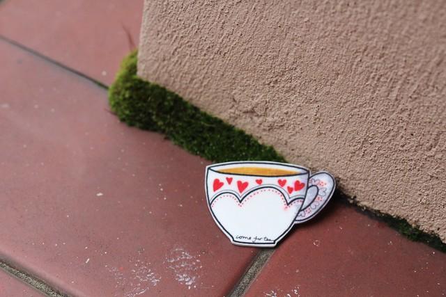 teacup badge