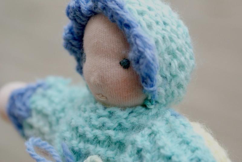 waldorf bunting doll