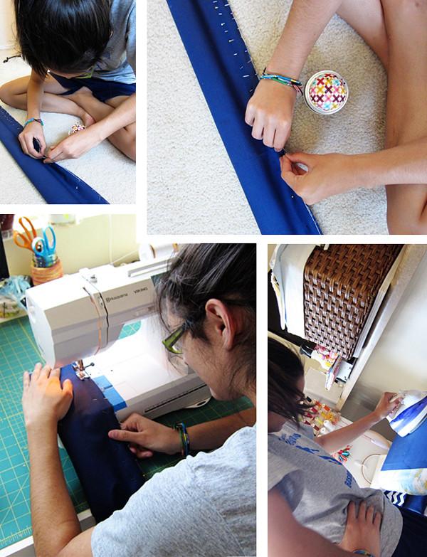 sister stitching