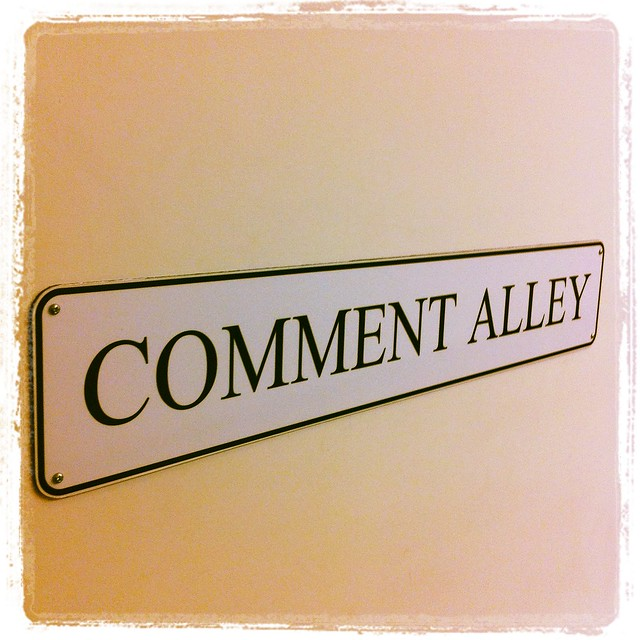 Comment Alley from Flickr via Wylio