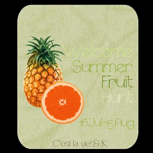 ::C'est la vie!::&::K:: Fruit hunt by Larcoco ::C'est la vie!::